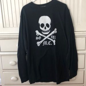 """So Cal"" w skull long-sleeve shirt"
